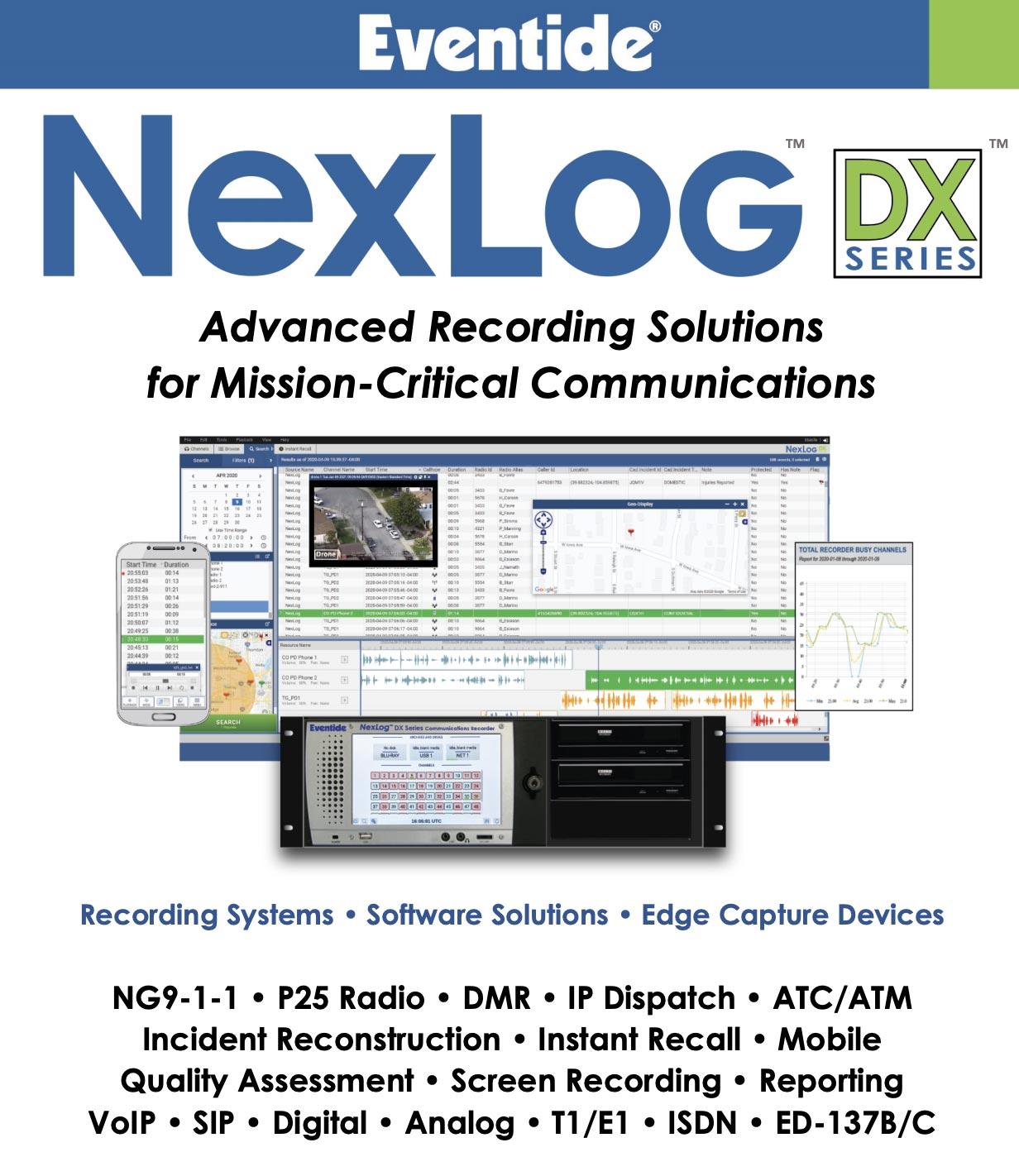 EvenTide NexLog DX Series (PDF)